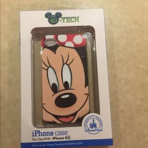 Disney iPhone 4s Case NWT